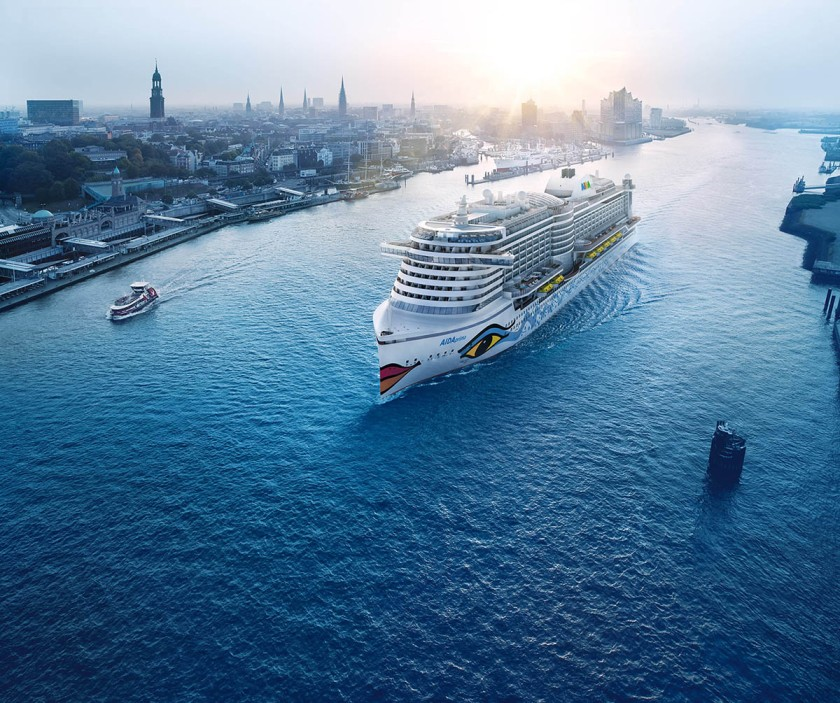 AIDA Cruises' AIDAprima - Photo: AIDA Cruises