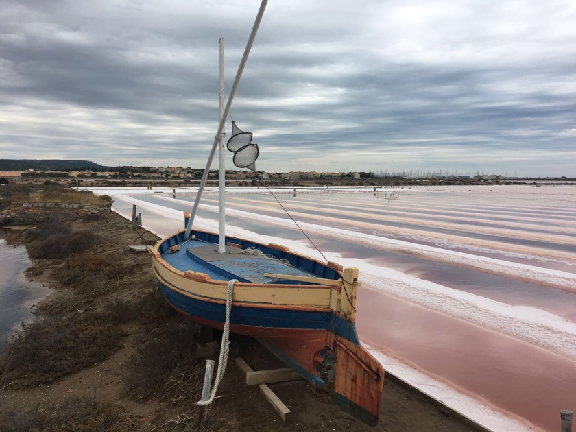 Salt Flats in Gruissan